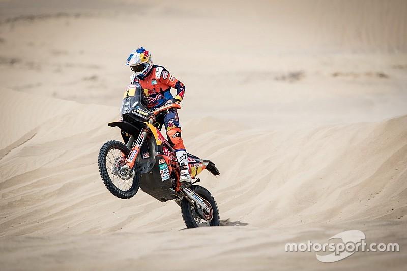 El campeón del Dakar quedó fuera de la edición 2018