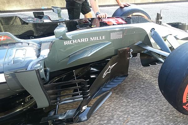 Haas: soluzioni aerodinamiche mostruose sulla VF-17