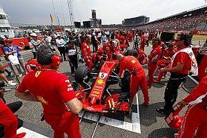 Ferrari kühlt Kamera: Leistungssteigerung beim Start?