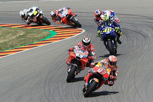 Fotogallery MotoGP: il GP di Germania vinto dal soluto Marc Marquez su Rossi e Vinales