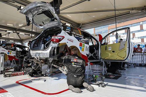 Toyota ha inaugurato la nuova sede estone per logistica e revisione delle Yaris WRC