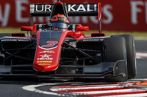 Мазепин прорвался на второе место в первой гонке GP3, Пульчини одержал победу