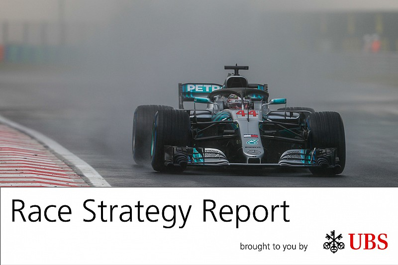 Report Strategie: una qualifica bagnata ha aperto la porta alla vittoria Mercedes