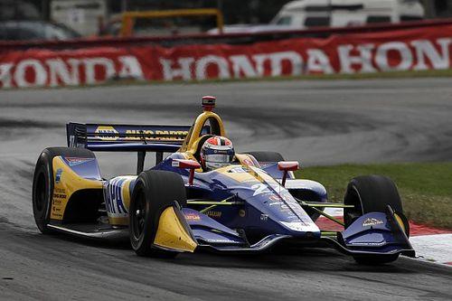 Росси выиграл гонку IndyCar в Мид-Огайо благодаря уникальной тактике