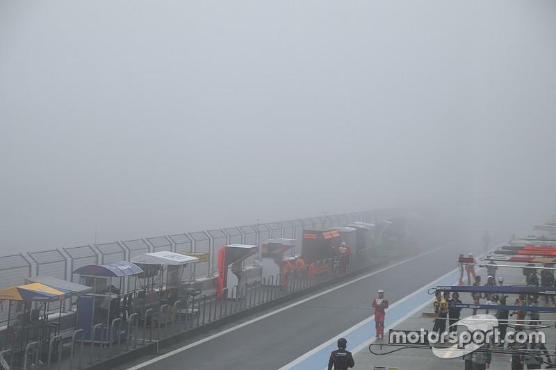 濃霧のため、公式練習は中止/スーパーGT第2戦