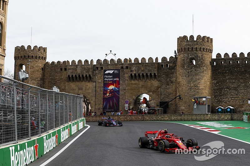 تمديد عقد جائزة أذربيجان الكبرى في الفورمولا واحد حتى 2023