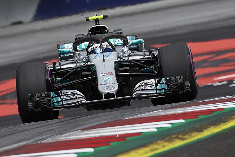 オーストリア予選速報:ボッタス会心PP。トロロッソのガスリー12番手