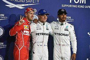 Eindstand wereldkampioenschap Formule 1 2017