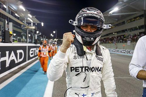 Abu Dhabi GP: Bottas beats Hamilton to final pole of 2017