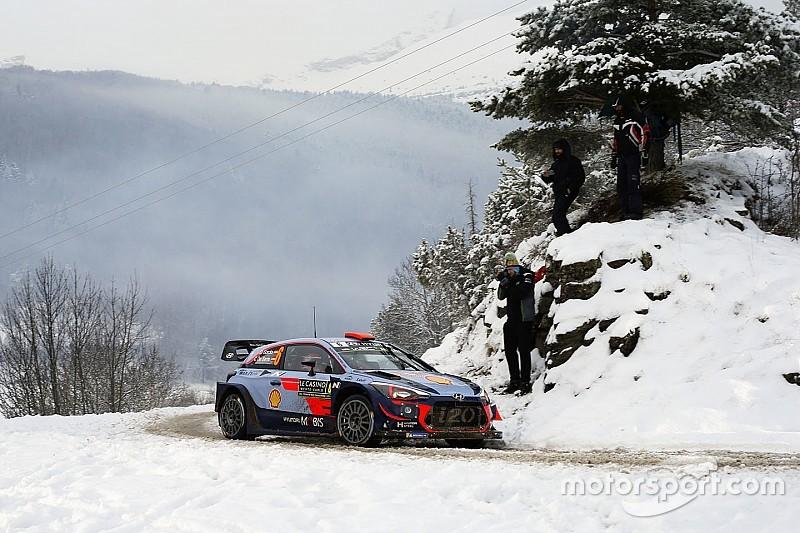 WRC: videón Sordo parádés mentése a Monte Carlo Raliról