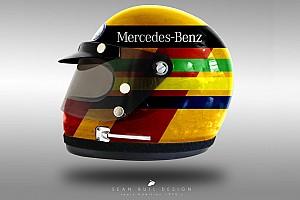 Fórmula 1 Conteúdo especial GALERIA: Os capacetes da F1 adaptados aos anos 1970