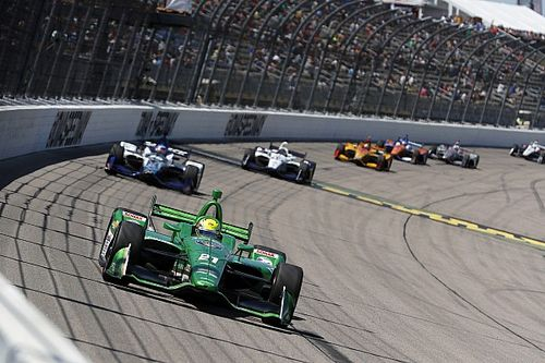"""Pigot's first IndyCar podium a """"weight off the shoulders"""""""