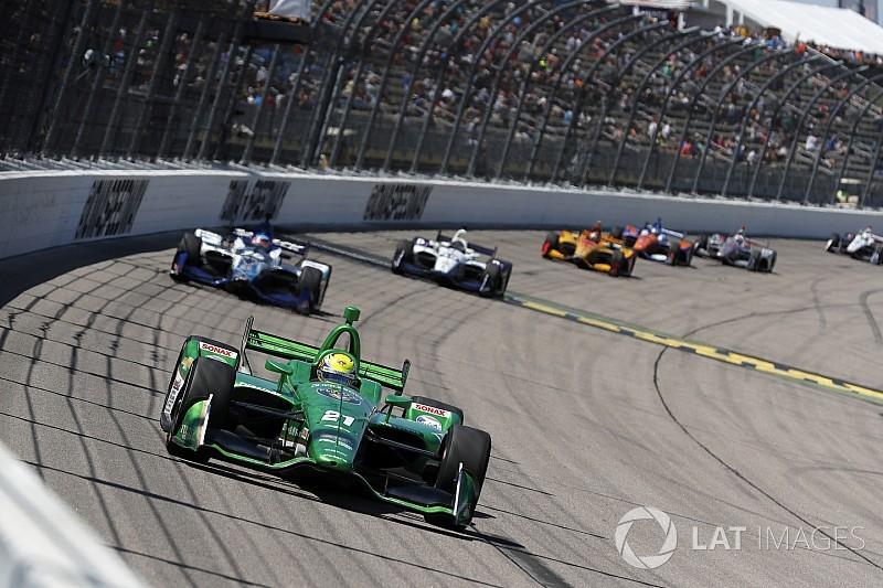 "Pigot's first IndyCar podium a ""weight off the shoulders"""