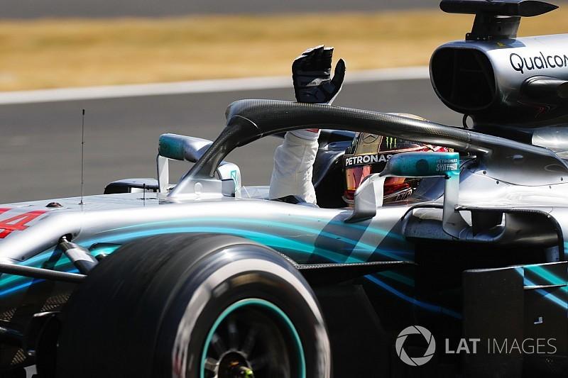 """Lewis Hamilton élu """"Pilote du Jour"""" du GP de Grande-Bretagne 2018"""