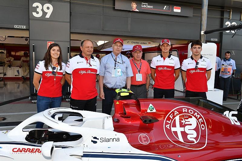 Leclerc: Sauber hedeflerini yükseltebilir