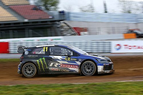 Barcelona World RX: Solberg tops qualifying, Loeb struggles