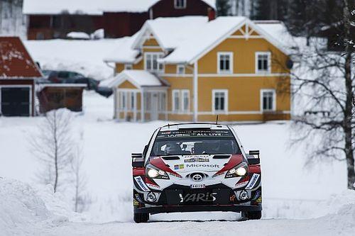 WRC Rallye Schweden: Toyota-Doppelführung zum Auftakt