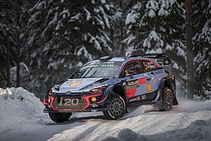 WRC Resumen de la etapa Neuville lidera en Suecia y Ogier está fuera de ritmo
