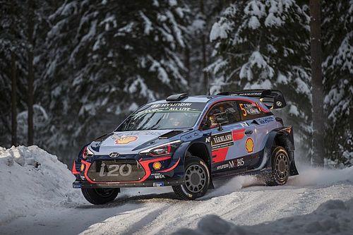 Sweden WRC: Neuville leads Mikkelsen, Ogier off the pace