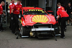 Supercars Breaking news High-speed crash for McLaughlin at Sydney test