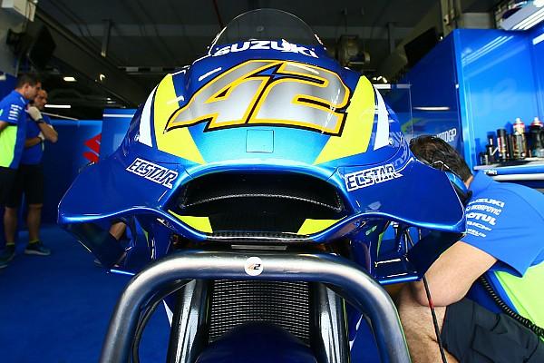 Trotz Crashs: Suzuki mit neuer Aero-Verkleidung zufrieden