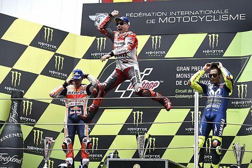 Fotogallery: trionfo ducatista con Lorenzo nel GP di Catalogna di MotoGP
