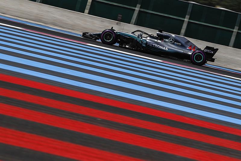 Formel 1 Frankreich 2018: Hamilton dominiert am Freitag