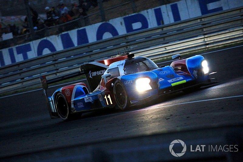 Button lamenta los problemas en su debut en Le Mans
