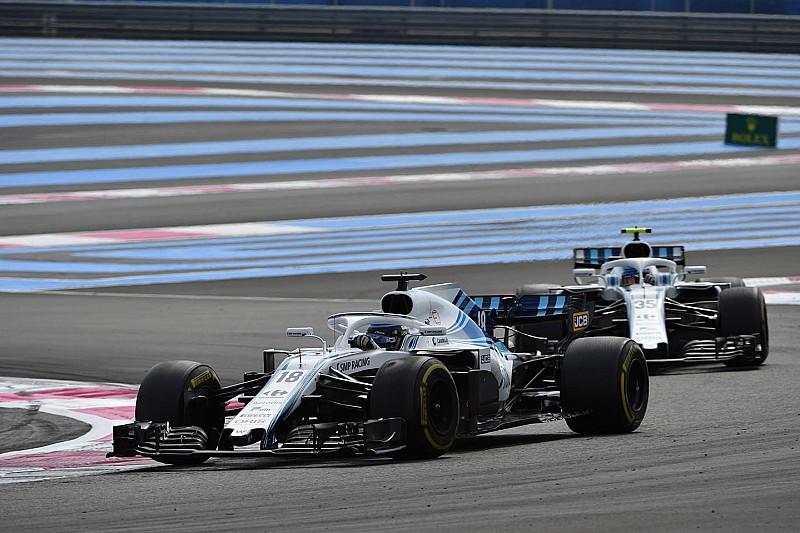 Utolsó hely és kiesés – így zárt a Williams Franciaországban