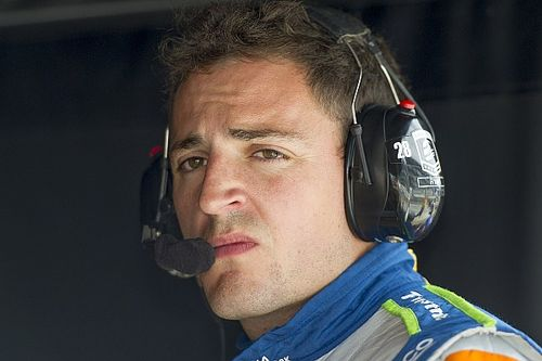 Stefan Wilson está orgulloso de lo hecho en Indy 500