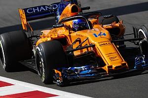 Formula 1 Breaking news Alonso says upgrade has made McLaren car