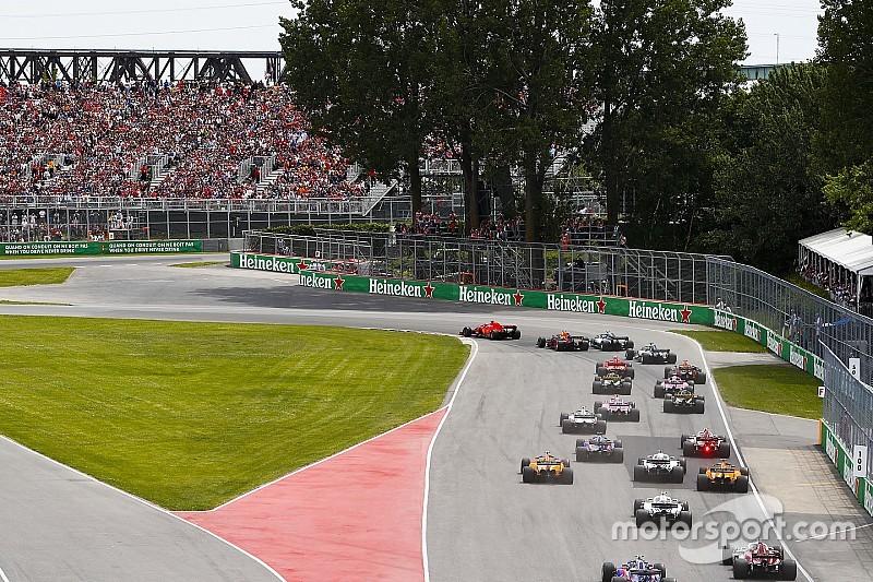 Ferrari et Red Bull avec moins de tendres que Mercedes à Montréal