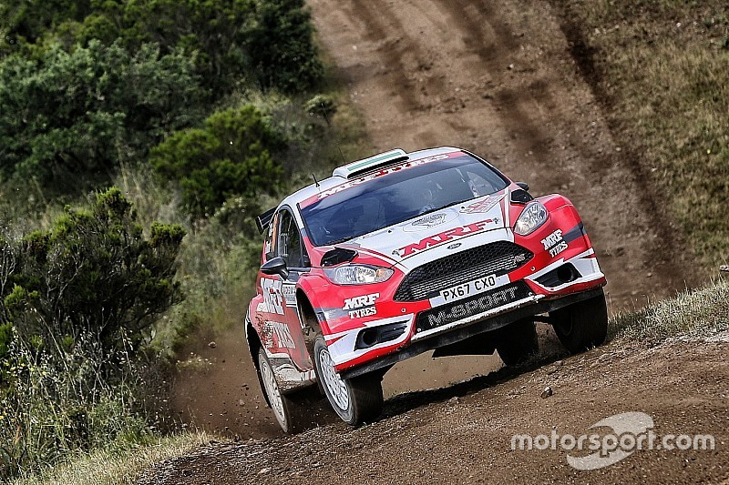 Italy WRC2: Gill and MRF finish 12th on debut