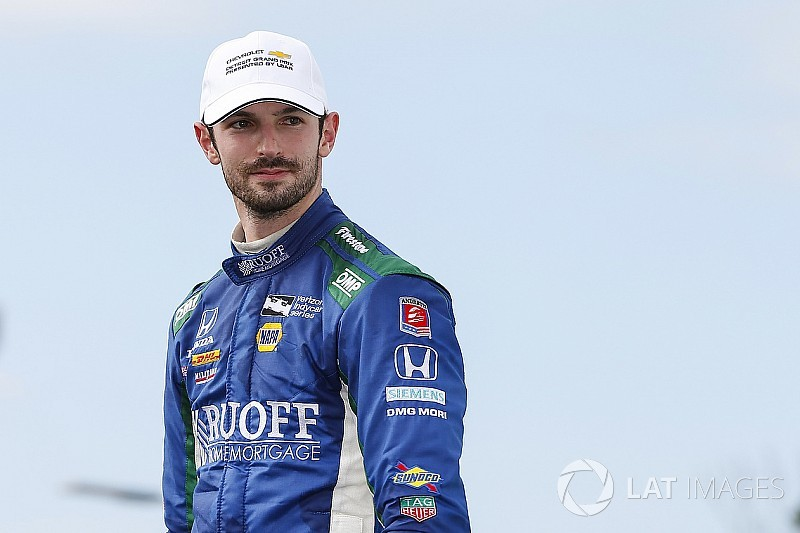 Rossi's hard lessons learned in Detroit