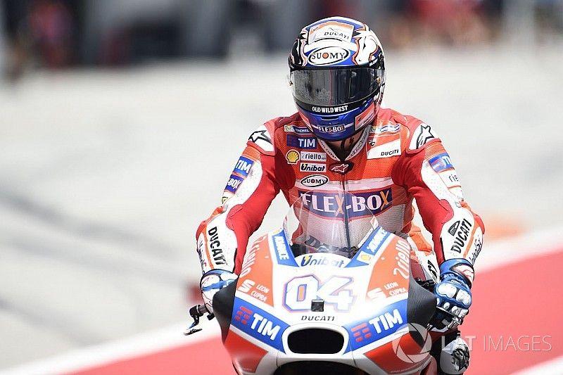 MotoGP Malaysia: Dovizioso pimpin warm-up, Marquez kedelapan