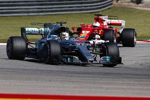 Fotogallery: Hamilton batte le Ferrari nel GP degli Stati Uniti di F.1