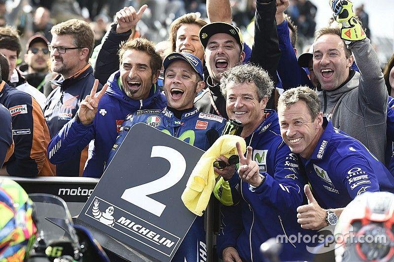 """Rossi recuerda que """"el año pasado acabé segundo en Australia"""""""