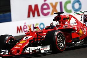 F1 Noticias de última hora Vettel, con dudas (y un problema de extintor) en el primer día de México
