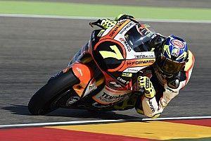 GP Aragon: Ein Auf und Ab bei Forward Racing
