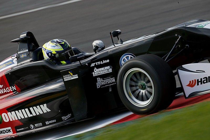 فورمولا 3: إريكسون يهيمن على التجارب التأهيليّة الثانية وينطلق أوّلًا في سباقي الأحد