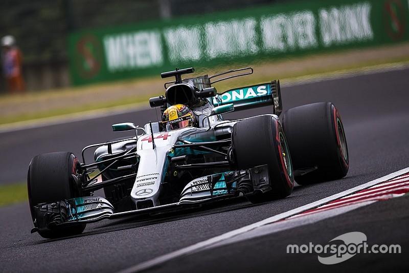 GP Jepang: Hamilton akhirnya raih pole Suzuka, Vettel start kedua