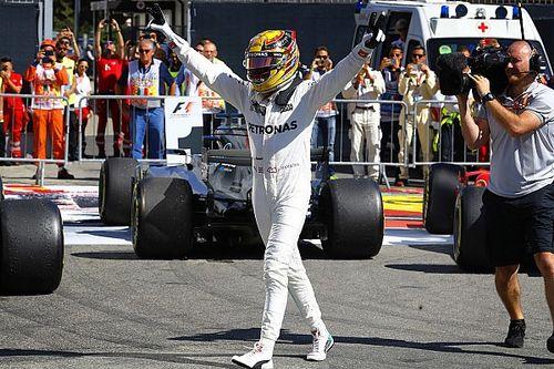 """Hamiltonveut """"garder le même état d'esprit"""" qu'à Spa et Monza"""