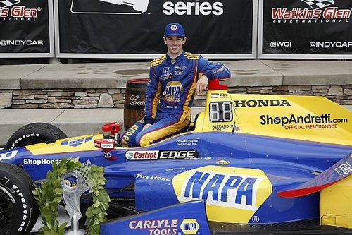 "Rossi ""si content"" de s'imposer à Watkins Glen"