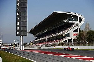 Aspal baru Barcelona bisa pengaruhi tes F1