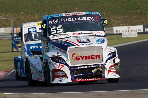 Lacko lands another European Trucks triple in Hungary