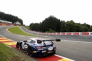 Blancpain Endurance Kwalificatieverslag 24 uur Spa: Marciello snelste in eerste kwalificatie, zware crash Kobayashi
