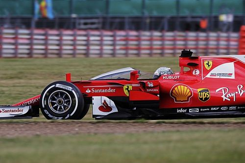 "Vettel says Shield made him ""dizzy"" in test run"
