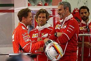 """Vettel veut le maintien d'Arrivabene, """"leader respecté"""" chez Ferrari"""