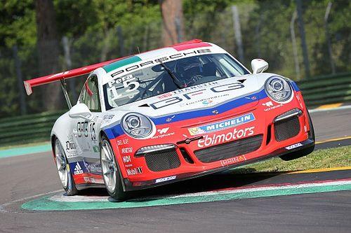 Carrera Cup Italia, Pera esalta e vince al debutto a Imola!