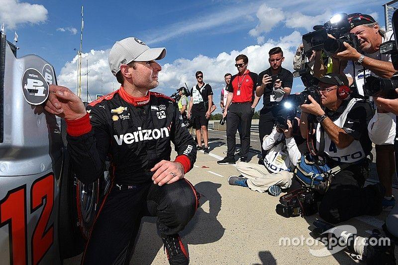 Barber IndyCar: Power takes pole, leads Penske 1-2-3